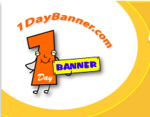 1 day banner Coupons