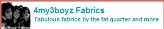 4my3boyz Fabrics Coupons