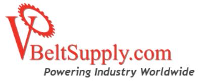 V-belt Supply Coupons