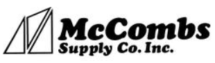McCombs Supply Coupons