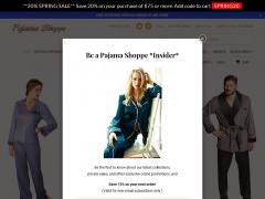 Pajama Shoppe Coupons