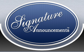Signature Announcements Coupons
